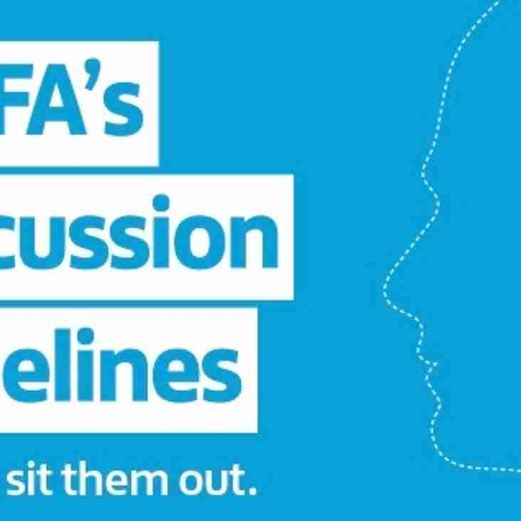 The FA releases new guidelines for managing concussion