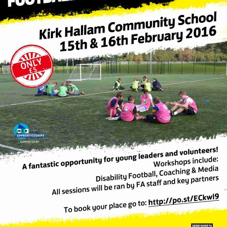 Calling All Aspiring Young Football Leaders!