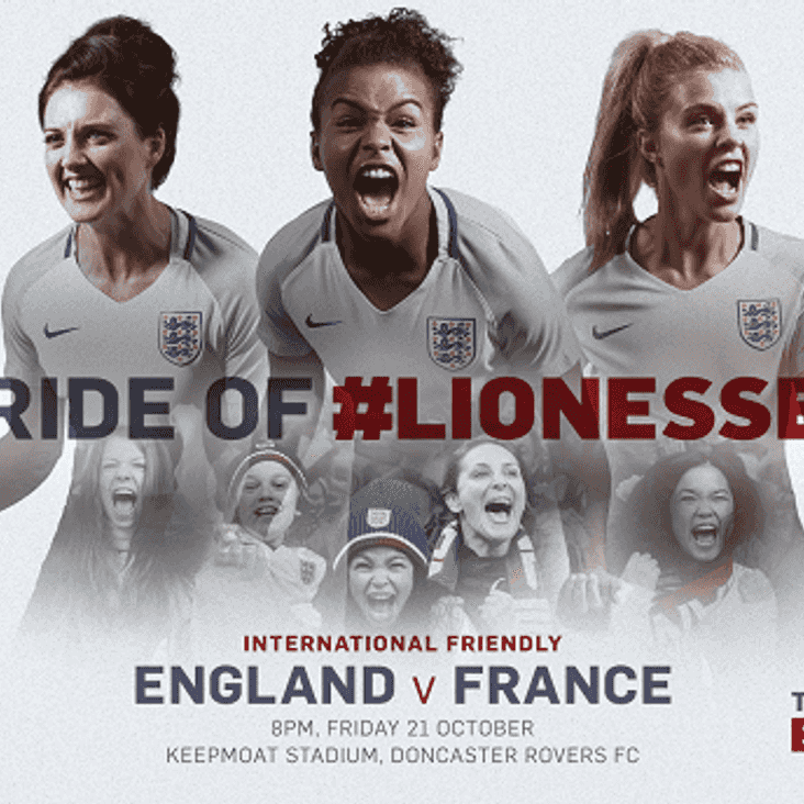 See England Women Take on France at Doncaster