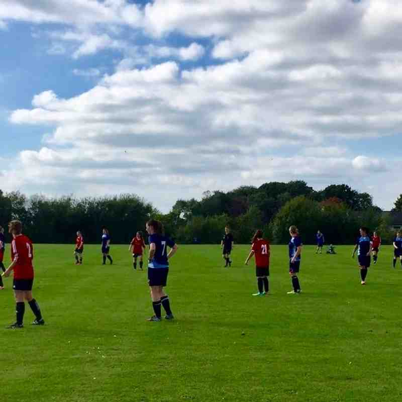 Ladies v GFC  ALFRETON LADIES - Sun 18 Sep 2016