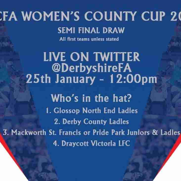 DCFA Women's County Cup Draw