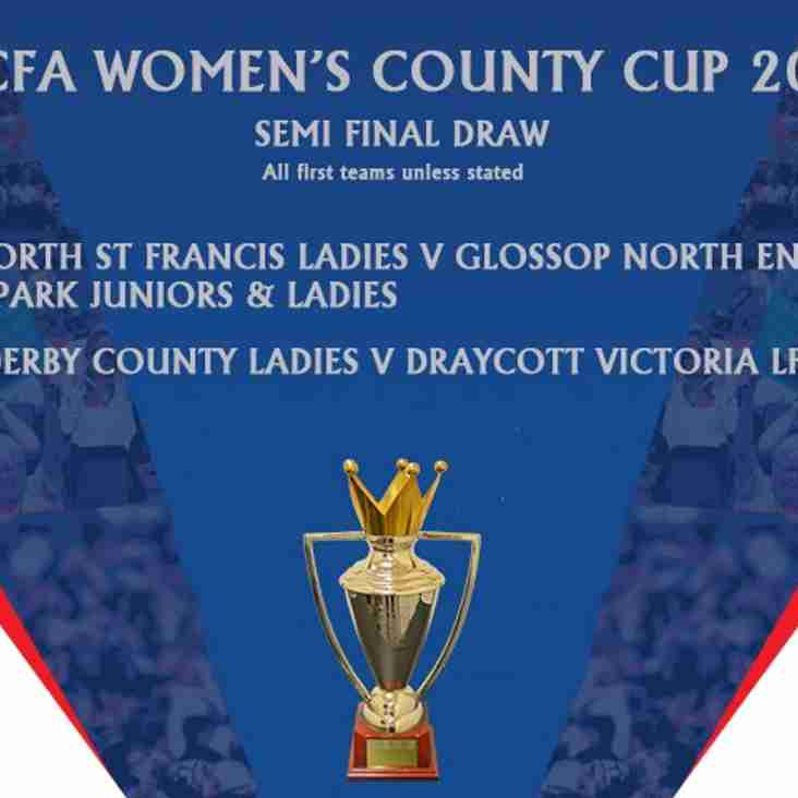 Womens' County Cup offers Prize Draw