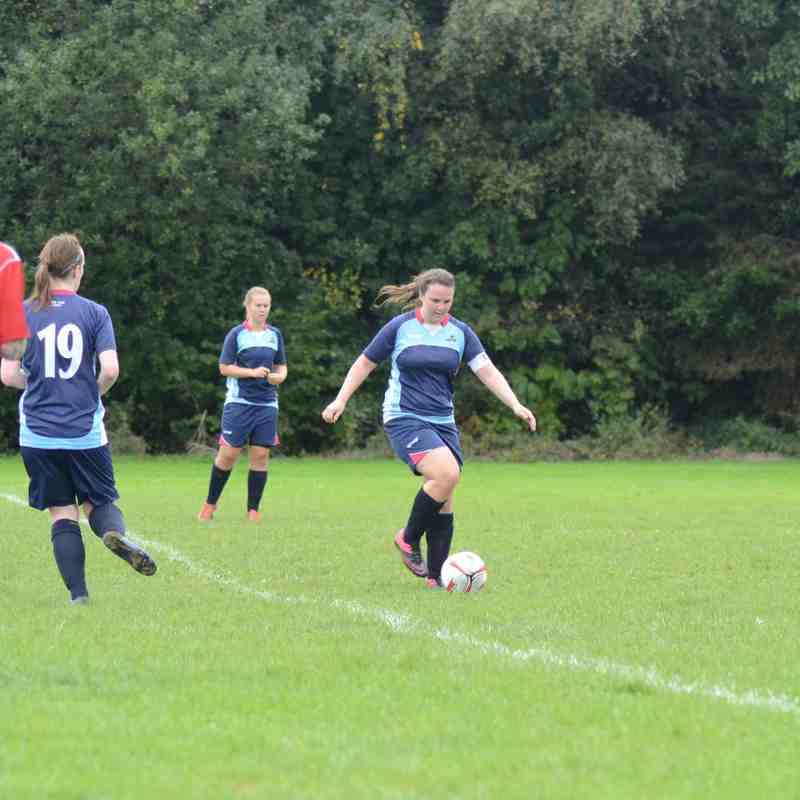 Ashbourne Ladies, DCFA County Cup, 07/10/17