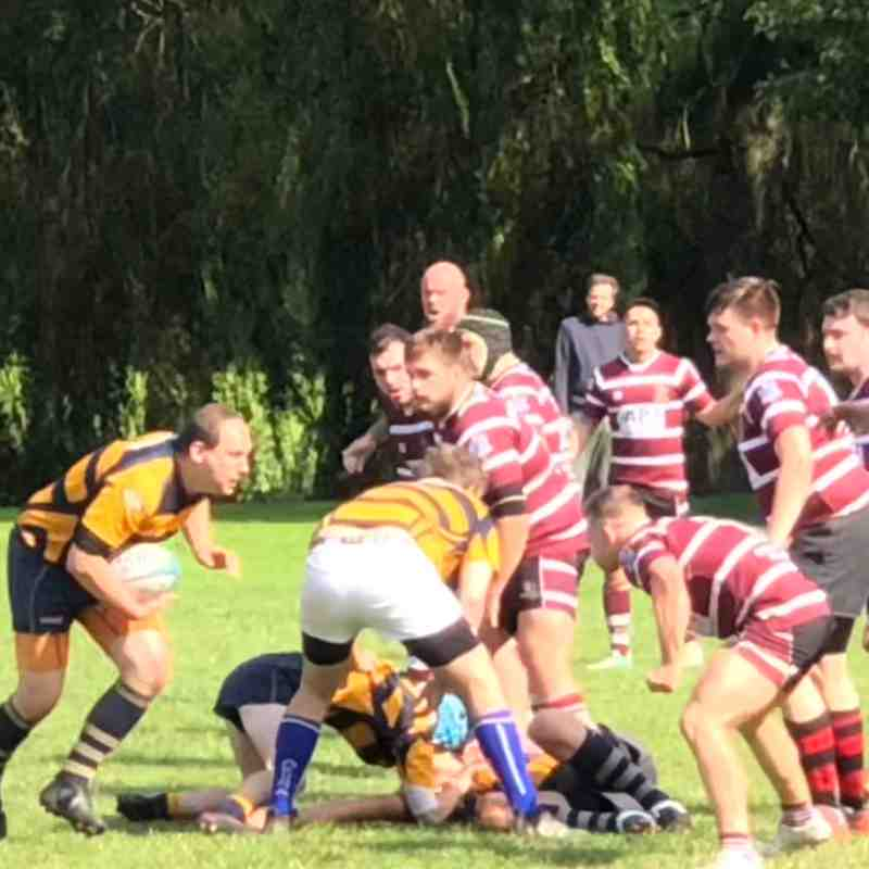 Ashbourne v Newcastle 25/8/18
