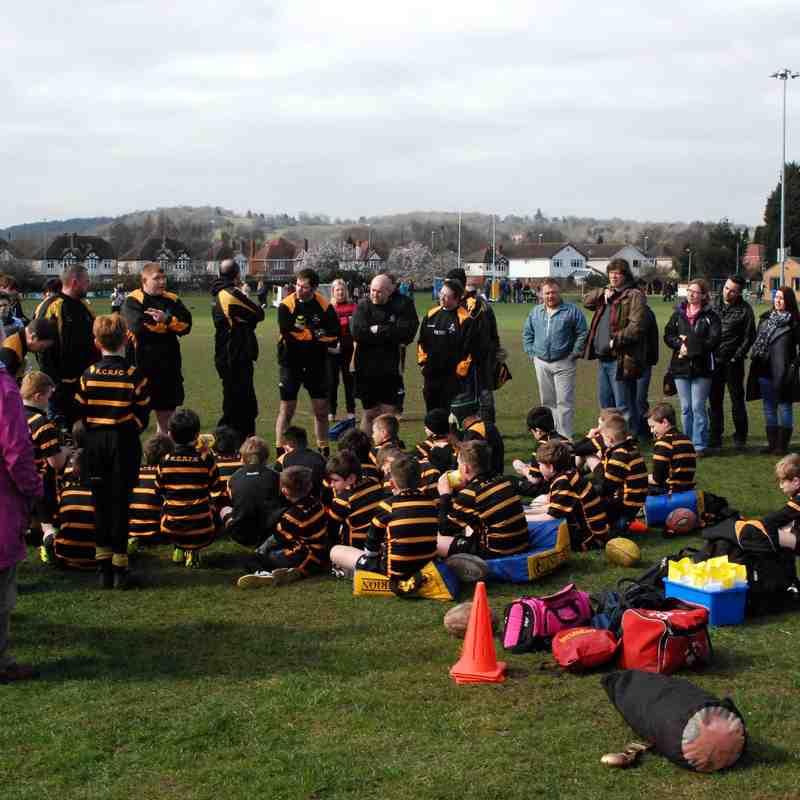 U10s v Wolverhampton March 2015