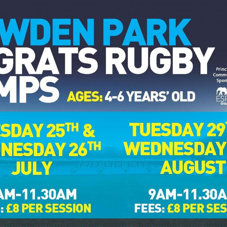 Rugrats Rugby Camps Announced!<