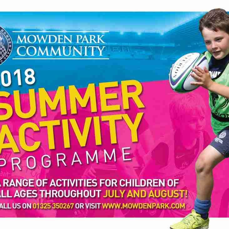 2018 Summer Activity Programme