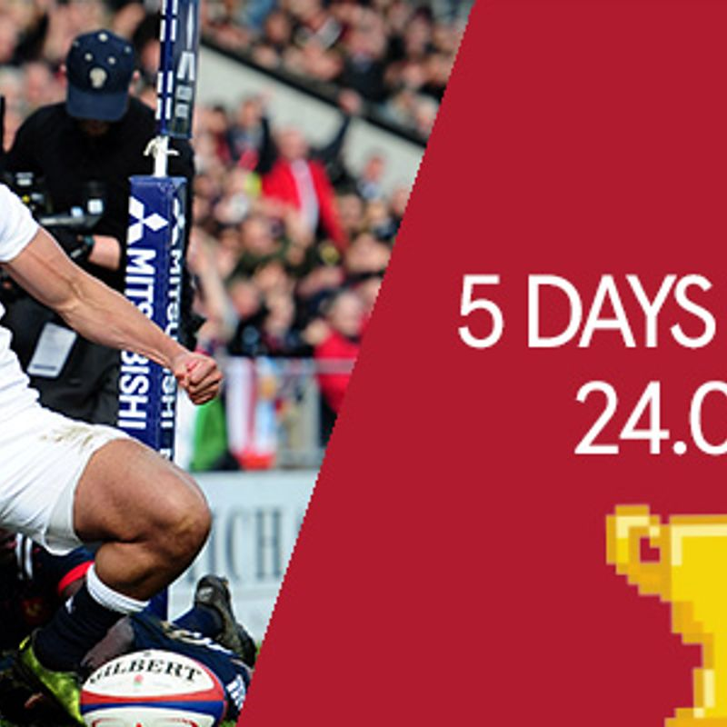 ENGLAND U20s - 5 DAYS TO GO