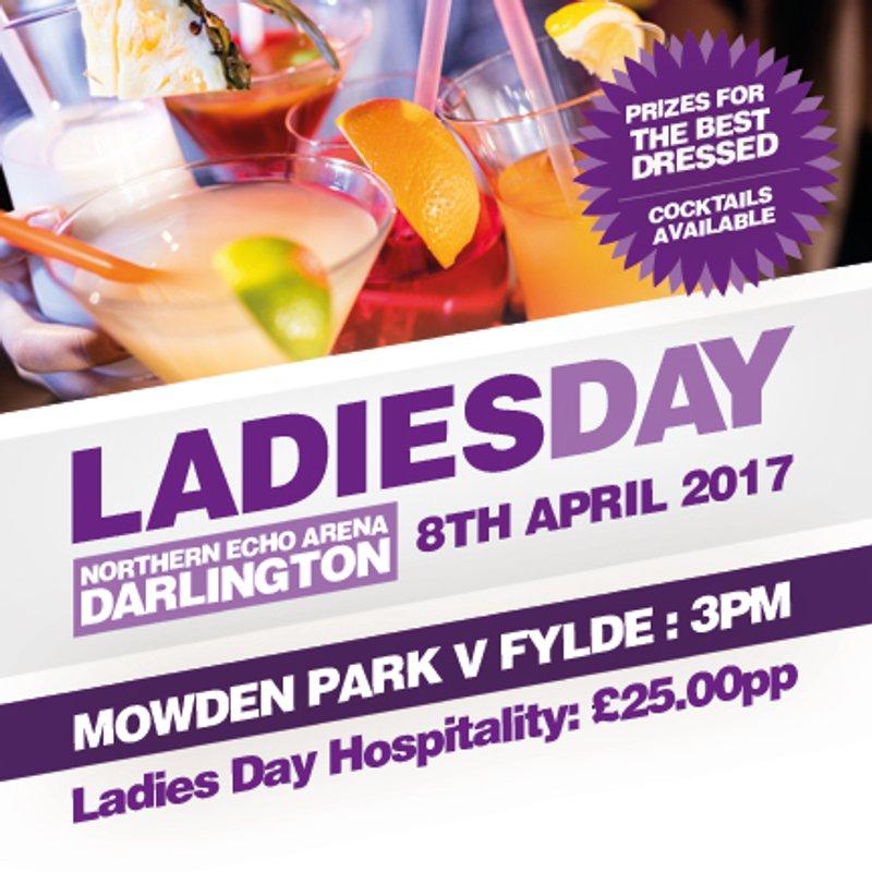 LADIES DAY - Saturday 8th April