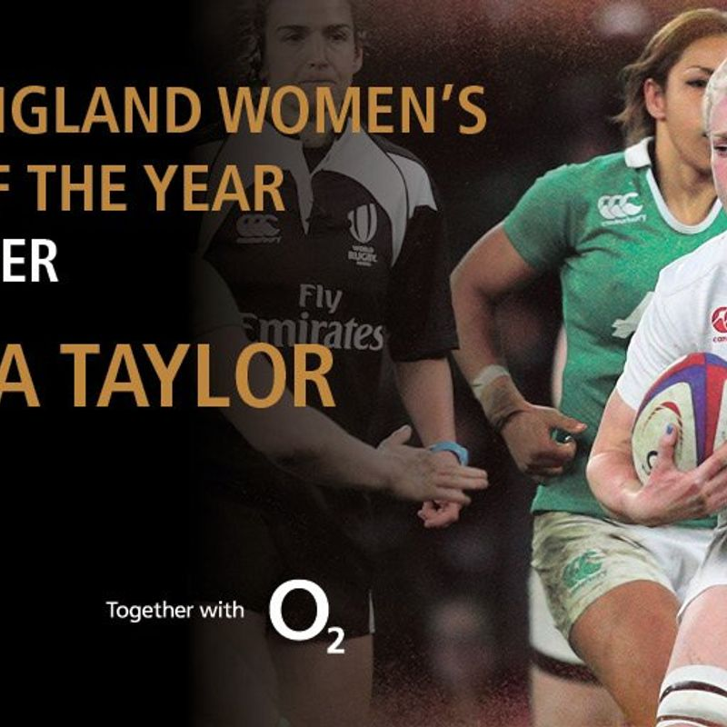 Tamara Taylor - England Women's Player of the Year 2017