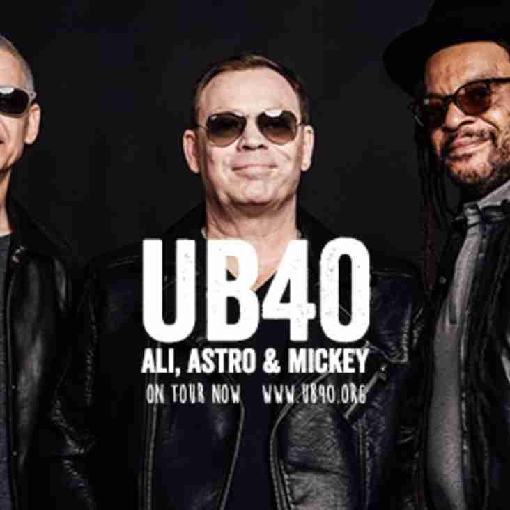 UB40 - KEY INFORMATION