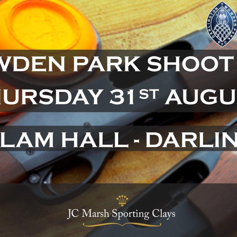 Mowden Park Shoot Day – Thursday 31st August