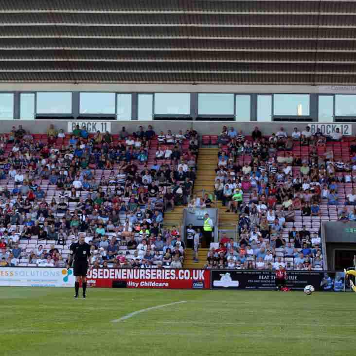 Darlington FC 1-2 Newcastle U23s