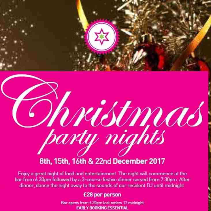 Book Your Xmas Party At The Arena!