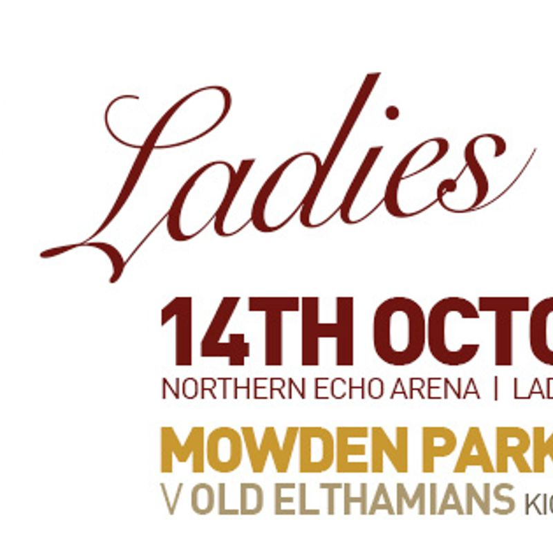 Ladies Day - Saturday 14th October