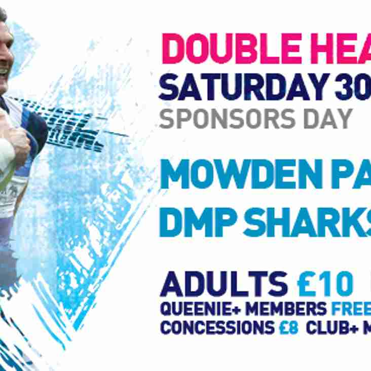 Double Header - Saturday 30th September