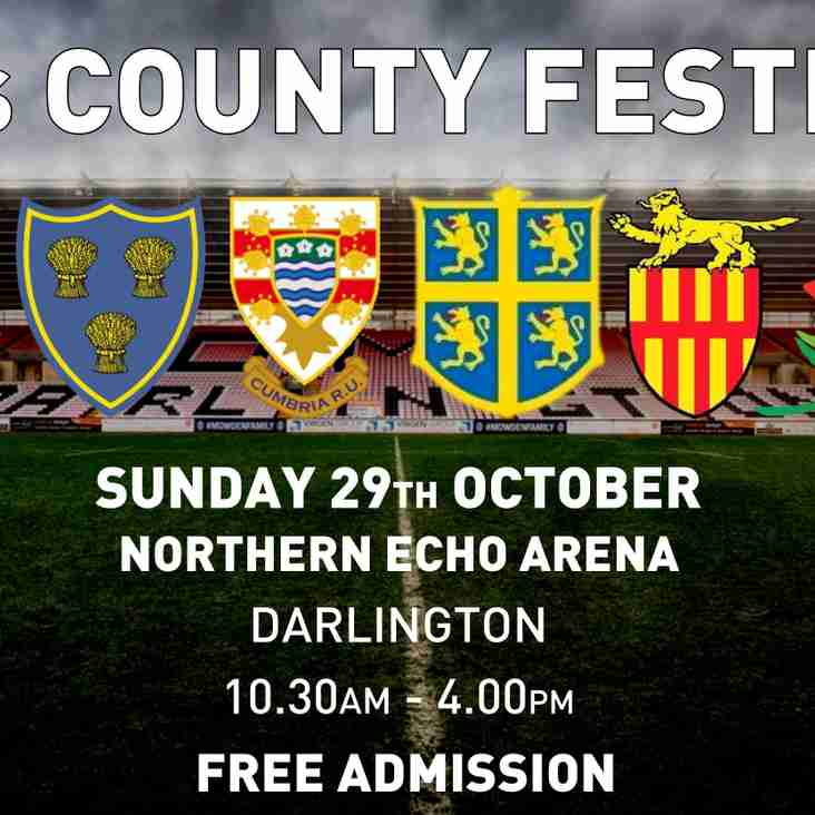 Under 18s County Festival This Sunday