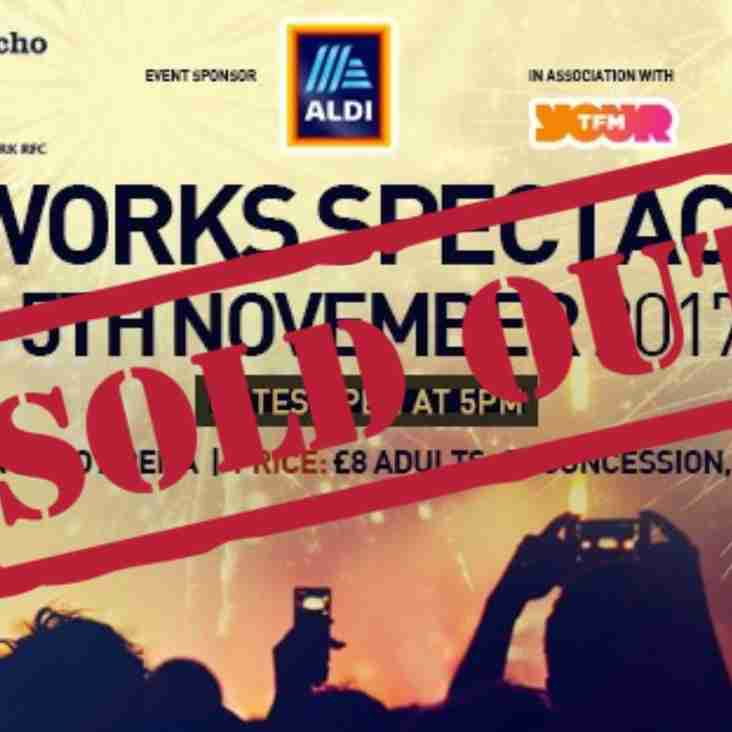 Fireworks Spectacular SOLD OUT