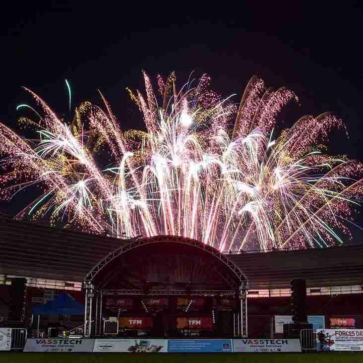 Fireworks Spectacular Lights Up The Sky in Darlington