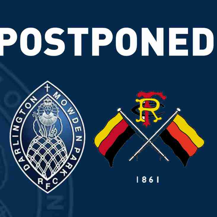 DMP Sharks v Richmond FC Postponed