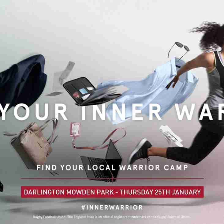 Inner Warrior Camp - Thursday 25th January