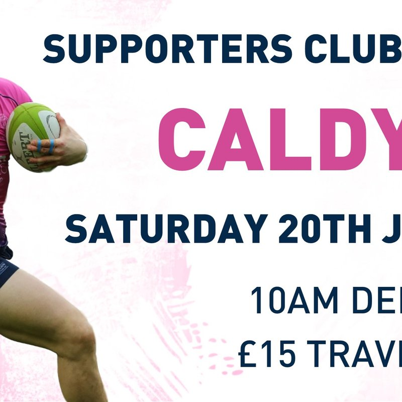 Supporters Club Travel - Caldy (A)