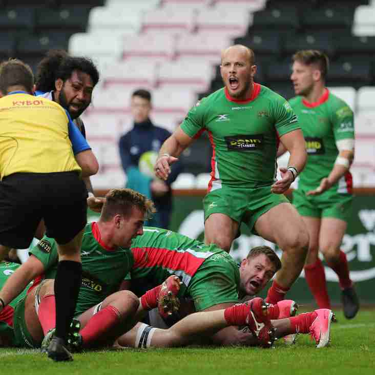 Plymouth Albion 34-19 Mowden Park