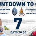 Countdown to Cov - 7 Days to Go