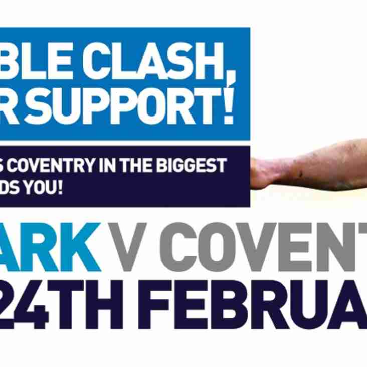 Matchday Information – Coventry