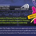 New Course For 2018 - Level 5 Professional Qualifications In Primary School PE Specialism Subject Leadership