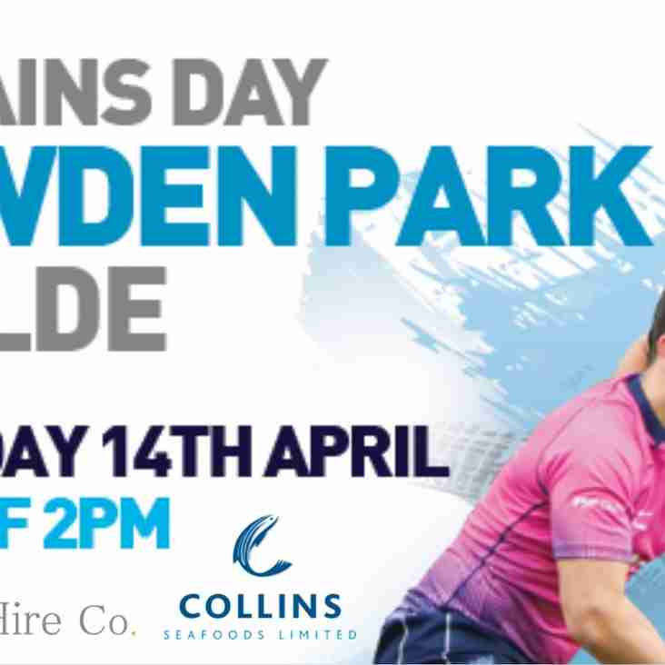 Captain's Day Luncheon - Saturday 14th April