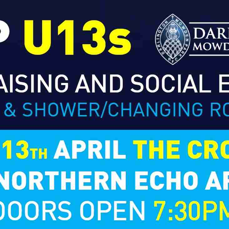 DMP U13s Fundraising & Social Evening