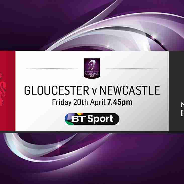 Watch Gloucester v Falcons in the CrossBar