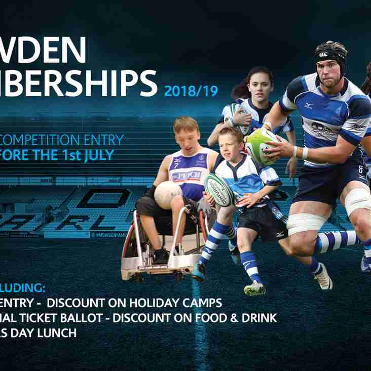 5 Reasons To Be A Mowden Member