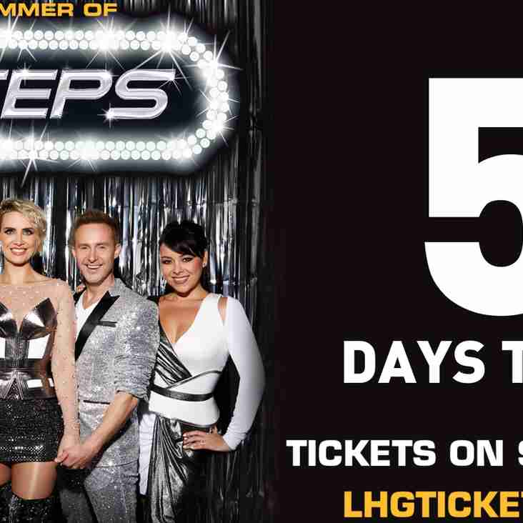 Summer of Steps 2018 - 5 Days to Go!