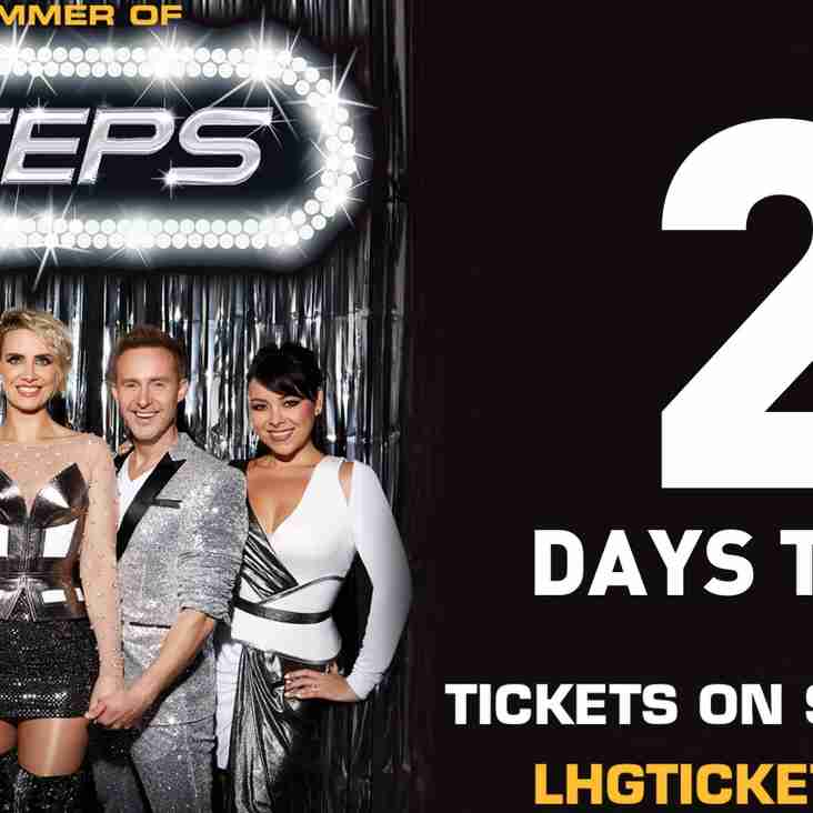 Summer of Steps 2018 - 2 Days to Go!