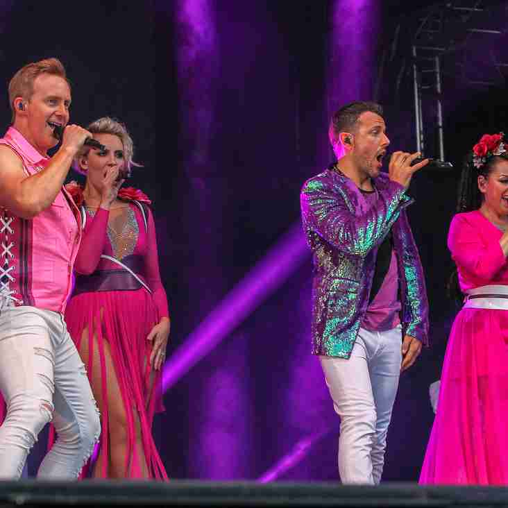 Steps Put On A Show At The Arena
