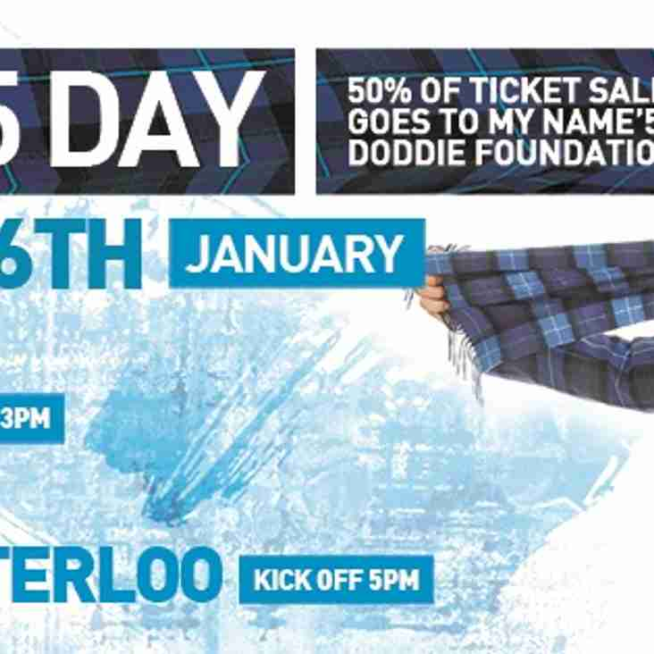 Doddie'5 Day - Saturday 26th January