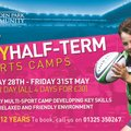 May Half-Term Sports Camps