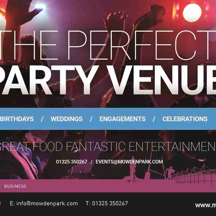 The Perfect Party Venue