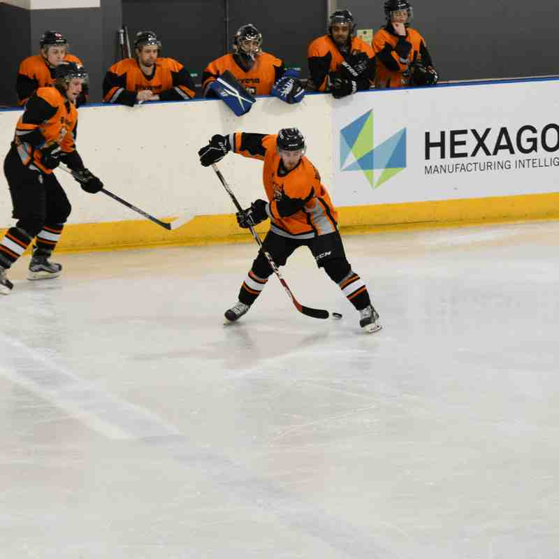 Telford Tigers NIHL VS Deeside Dragons