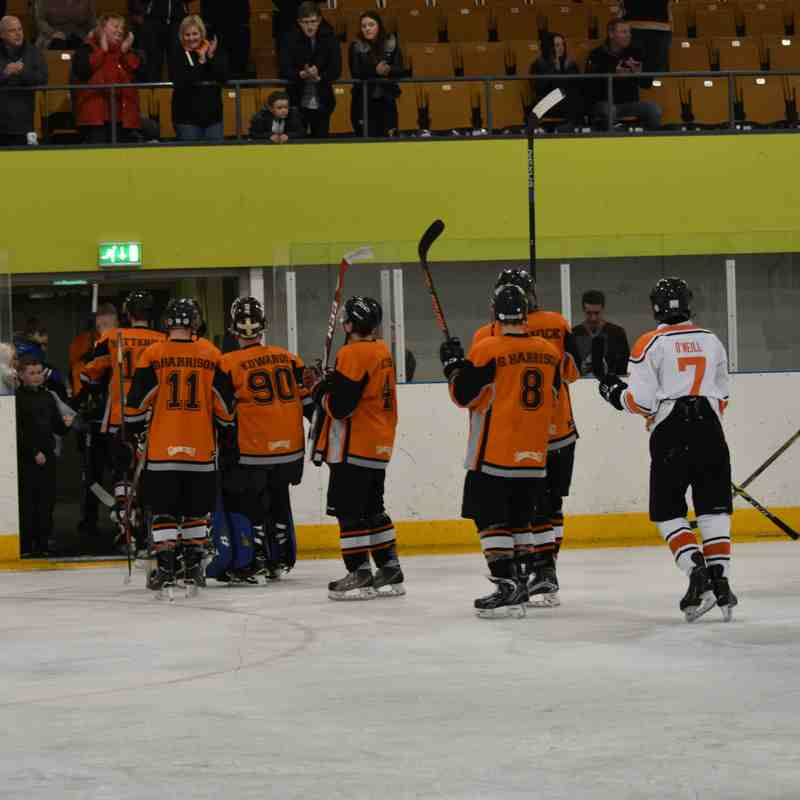 Telford Tigers NIHL VS Whitley Bay Warriors 18-3-17