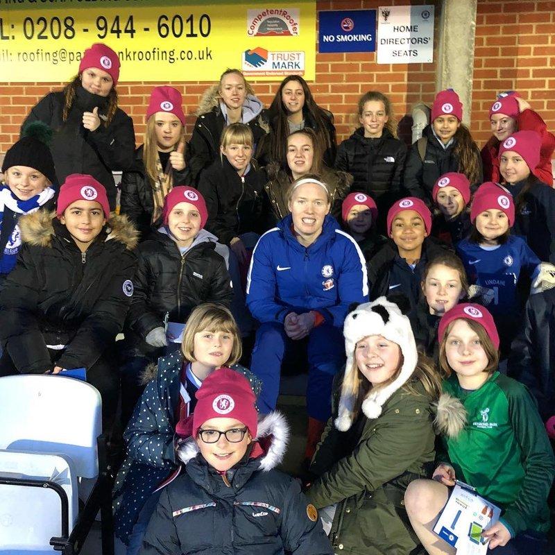 Chelsea Ladies Sister Club Partnership