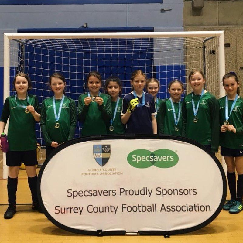 Surrey FA Futsal Champions - U10s