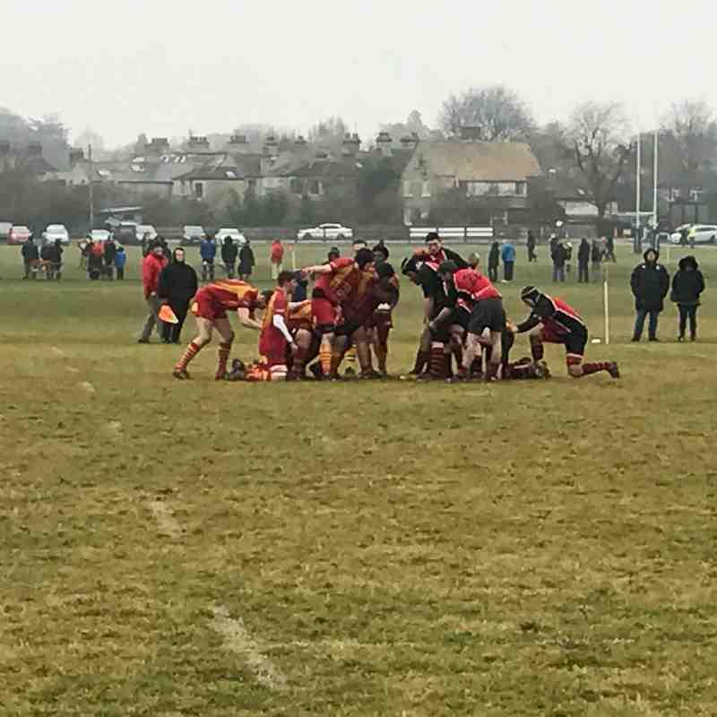 3rd XV vs Mildenhall