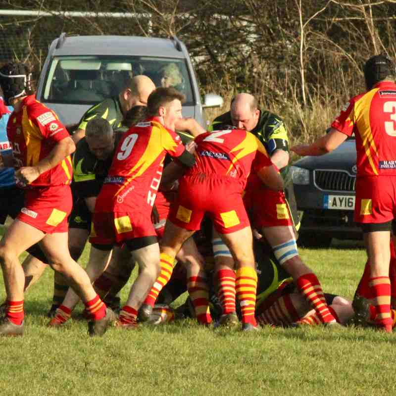 3rd XV vs Bury 3rd XV Cup and league double header