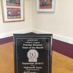 Highworth Town FC 07-17