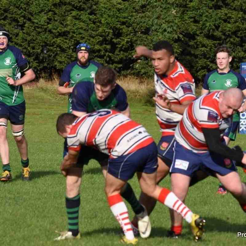 Handsworth 1sts v Long Buckby 1sts