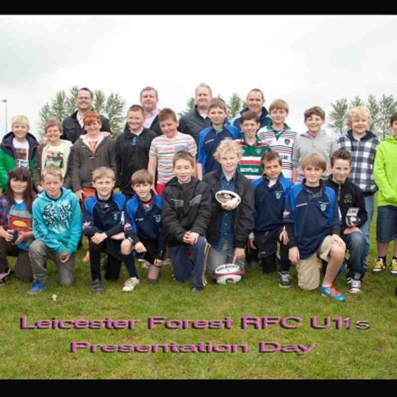 Forest U11s Presentation
