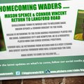 Homecoming Waders …..